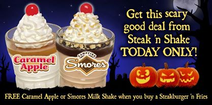 Steak and shake daily deals : Meal replacement shake 3 times a day