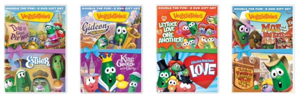 Veggie Tales DVDs as l...