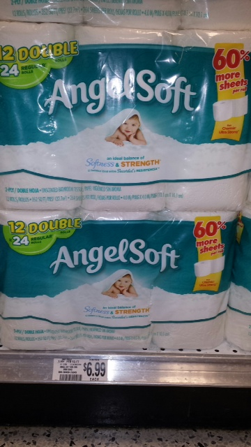 Good Deal On Angel Soft Toilet Paper At Publix Who Said