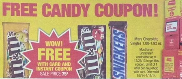 Mars candy printable coupon 2018