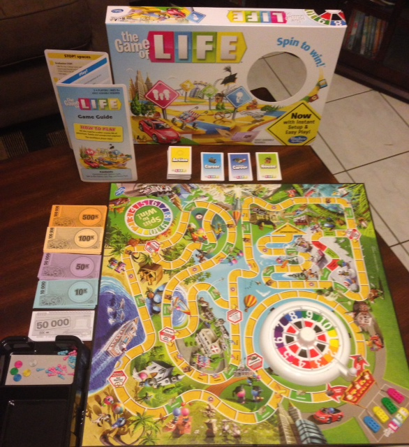 Hasbro The Game of Life Board Game Review and Giveaway - Who Said ...