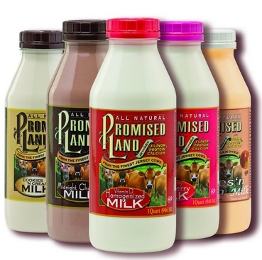 good deal on promised land flavored milk at publix   who