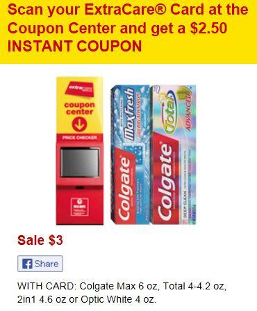 colgate total coupon 2014