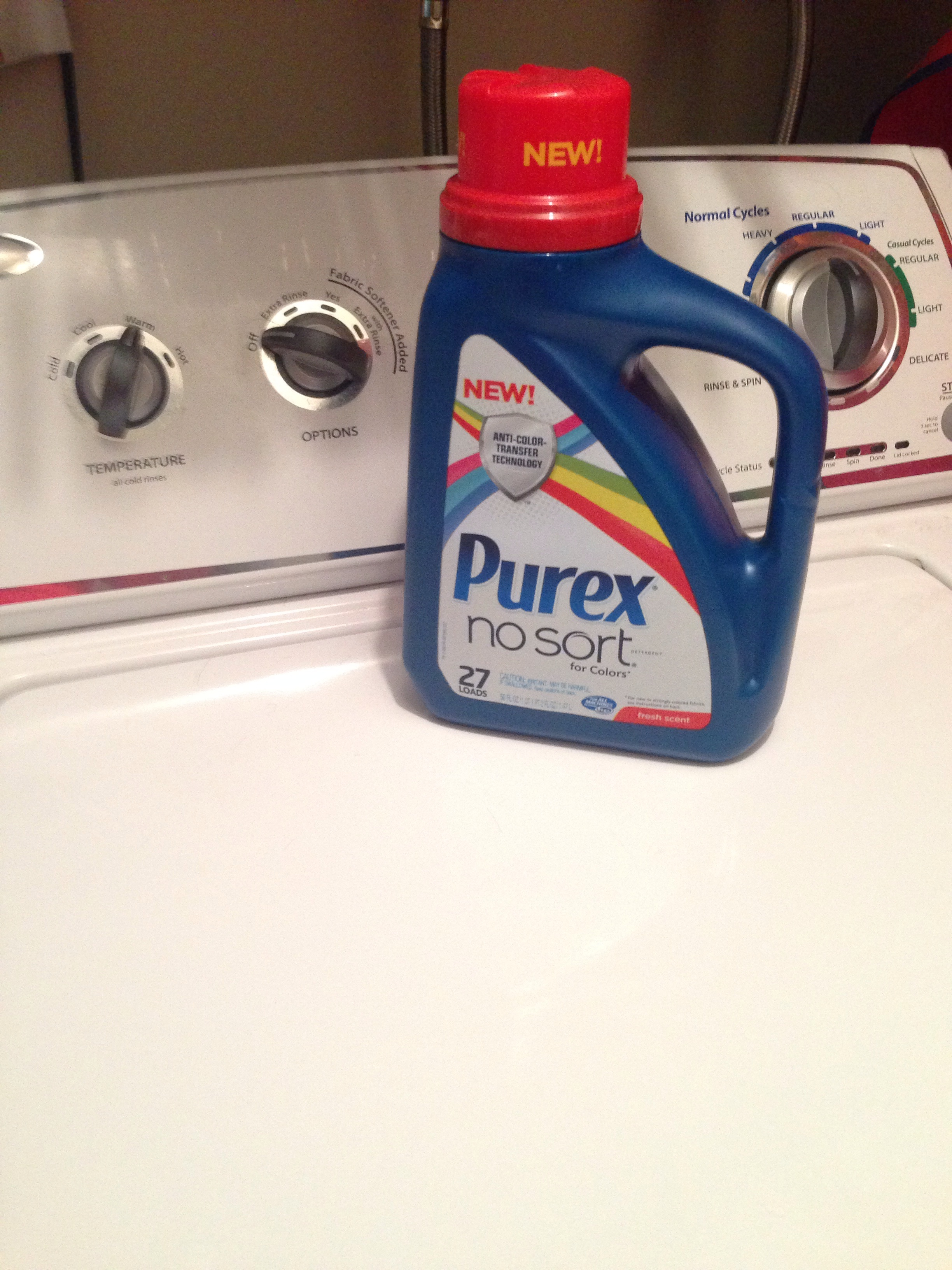 New Purex No Sort Laundry Detergent Free Product Coupon