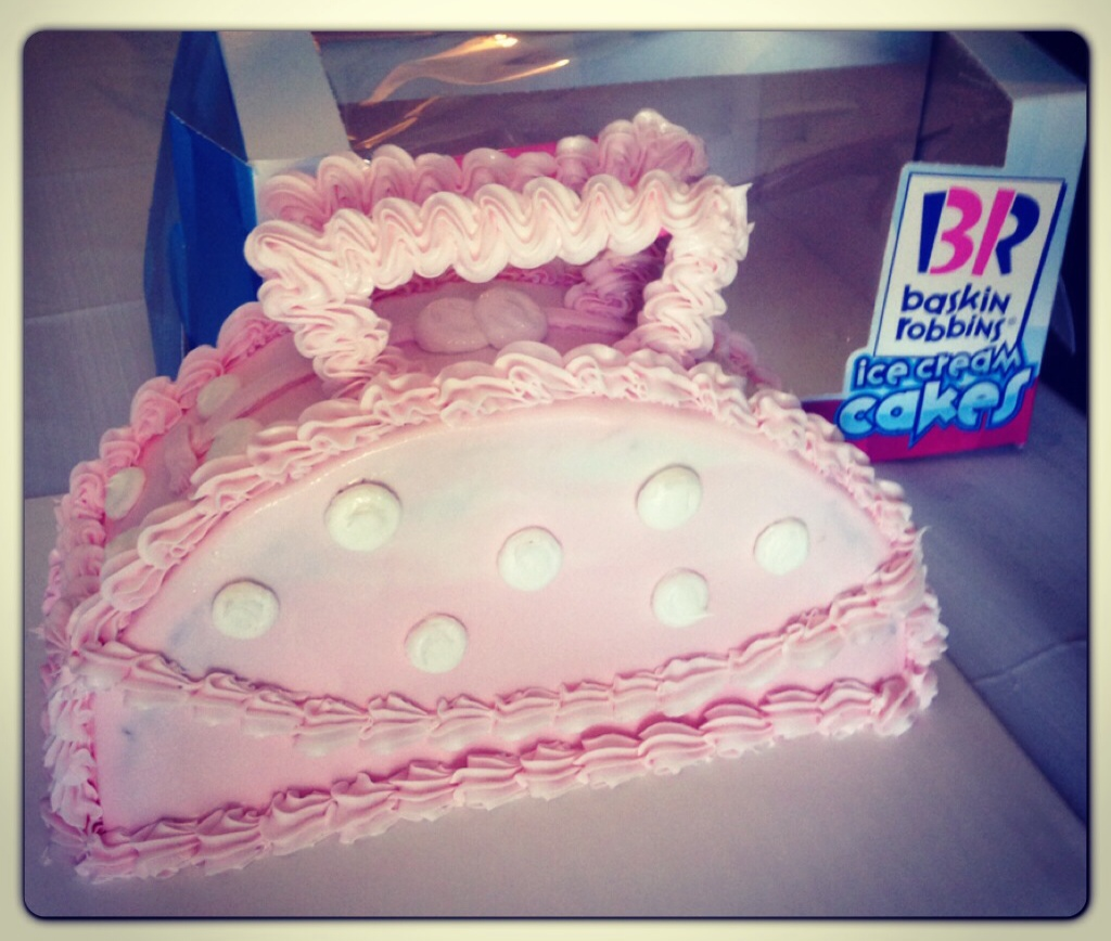 Surprise Mom w/ a Baskin Robbins Mother s Day Cake - Who ...