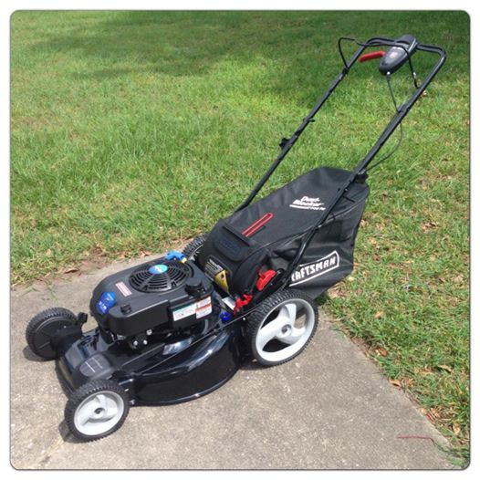 Craftsman Quiet Front Wheel Drive Lawn Mower Briggs