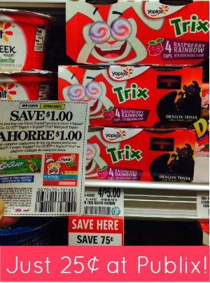 Trix yogurt coupons