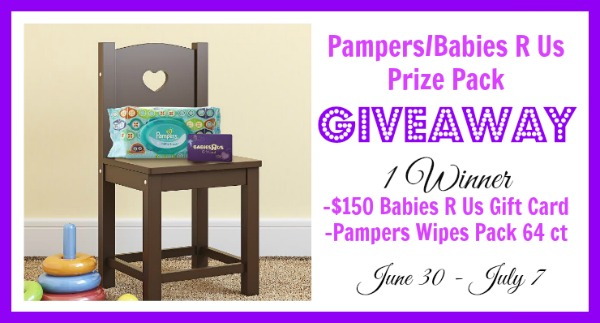 150 Babies R Us Gift Card Pampers Wipes 64 Pack