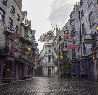 Harry Potter's Diagon Alley at Universal Orlando