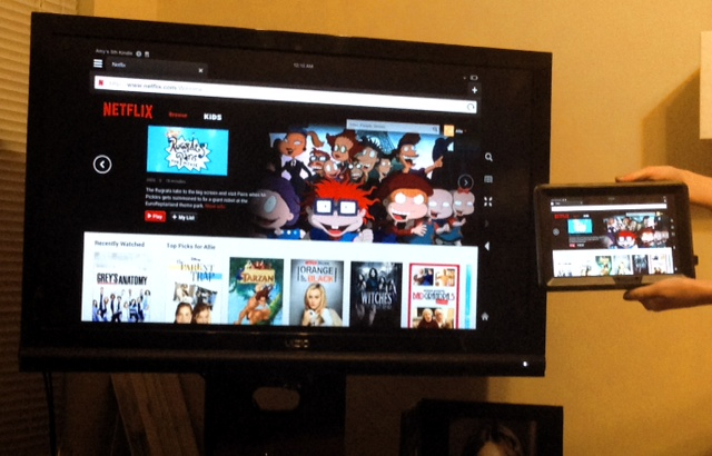 Review of netgear push2tv wirelessly mirror your for Mirror laptop to tv