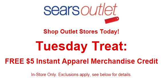 Sears Outlet has new, discontinued, scratched and dented, out of carton and reconditioned items for sale. Sears Outlet carries the top brands like Kenmore, LG, GE, Samsung, Whirlpool and Craftsman home appliances. Shop at Sears Outlet and join the thousands of satisfied customers.