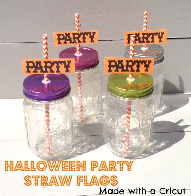 Halloween-PartyStraw--flags