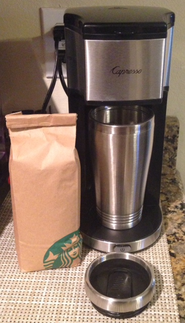 Coffee Maker On The Go : Capresso On-The-Go Personal Coffee Maker - Who Said Nothing in Life is Free?