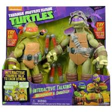 Playmates Toys TMNT 11 inch Interactive Talking Turtles