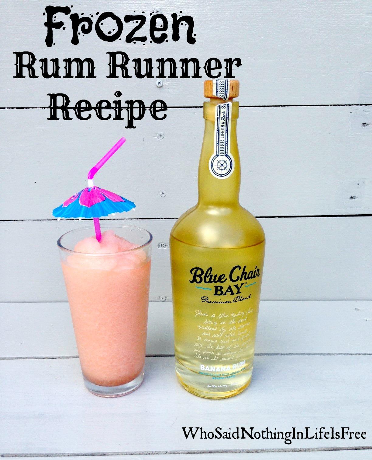 Frozen Rum Runner Recipe
