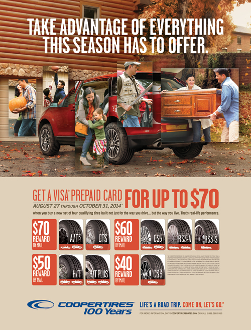Cooper Tire Sale >> Cooper Tire S Fall Reward Event Rollwithcooper Who Said Nothing
