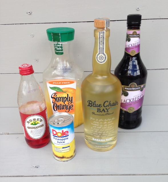 Rum Runner Recipe Ingred
