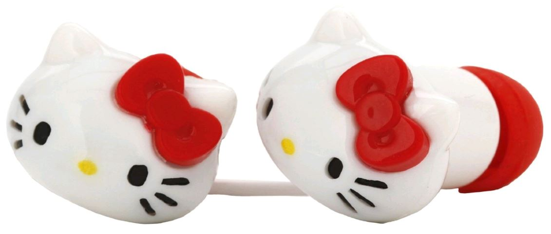 sakar-hello-kitty-earbuds