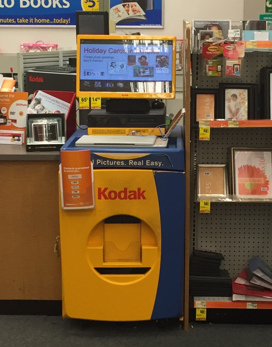 use kodak picture kiosk for last minute holiday gifts