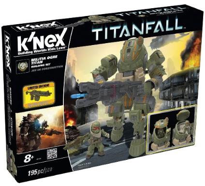 K'nex Titanfall - Ogre Titan Building Set