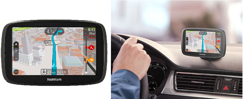 The Tomtom And Garmin Gps Systems From Best Buy Feature Bluetooth Connectivity For Hands Free Calling Traffic And Weather Updates Lane Assist