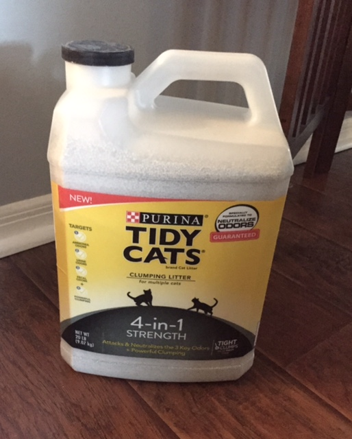 Tidy Cats 4-in-1 Strength Cat Litter – Reader Giveaway