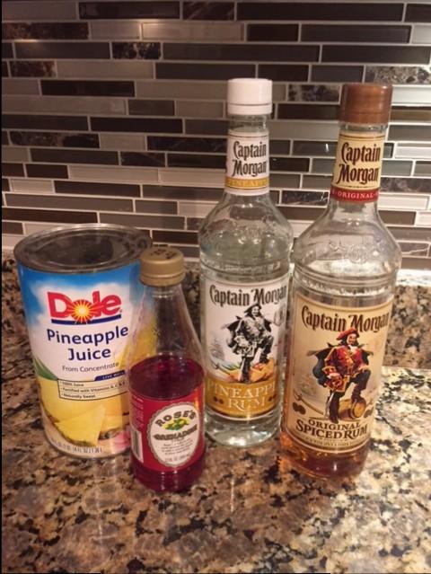 Captain Morgan Pineapple Rum Punch Recipe