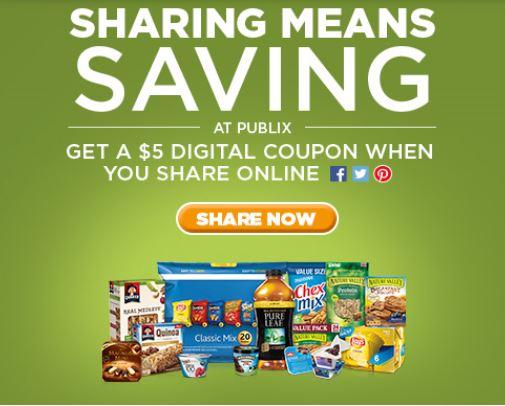 Publix electronic coupons