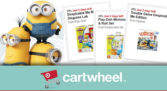 Minion Toys And Games : Target cartwheel to save on minions toys games who