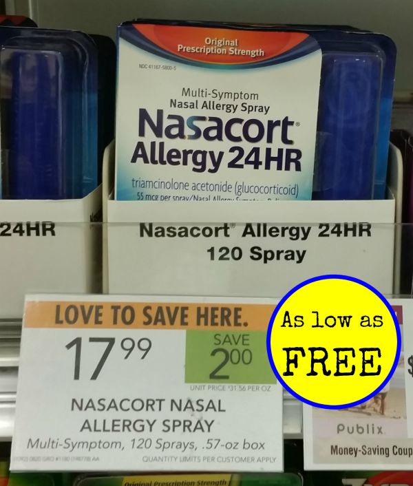 Coupons for nasacort nasal spray