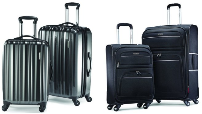 Samsonite Two-Piece Spinner Sets