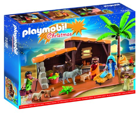 Playmobil Christmas Nativity Set 5588 Who Said Nothing