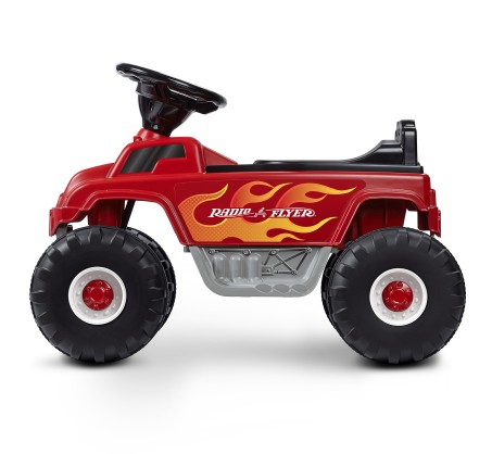 Battery Powered Monster Truck with Lights & Sounds