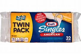 Kraft Singles Twin Pack