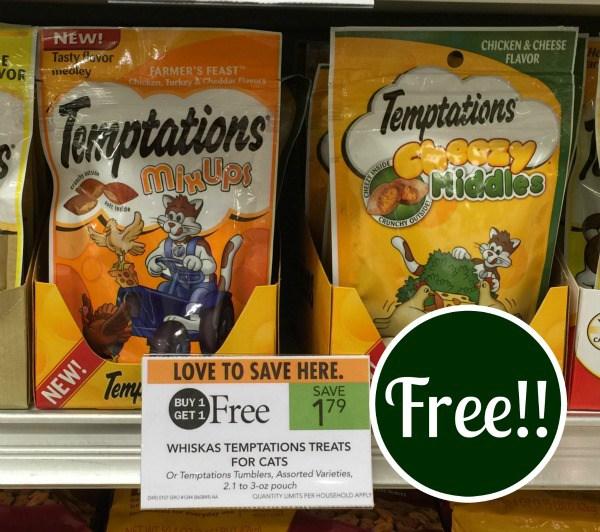 Temptations cat treats coupons