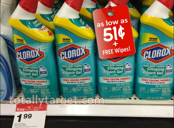 Clorox liquid toilet bowl cleaner coupon