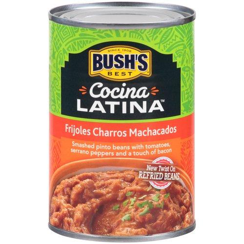 Bush's Best Cocina Latina Frijoles Negros Machacados