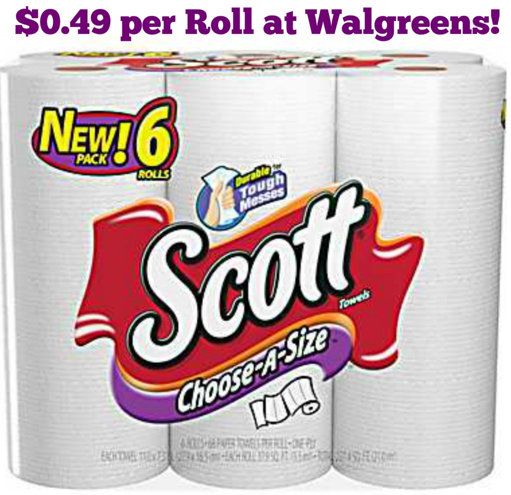Scott Paper Towels