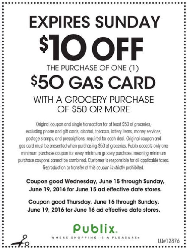 10 gas card coupon at publix who said nothing in life for America s best contacts coupons