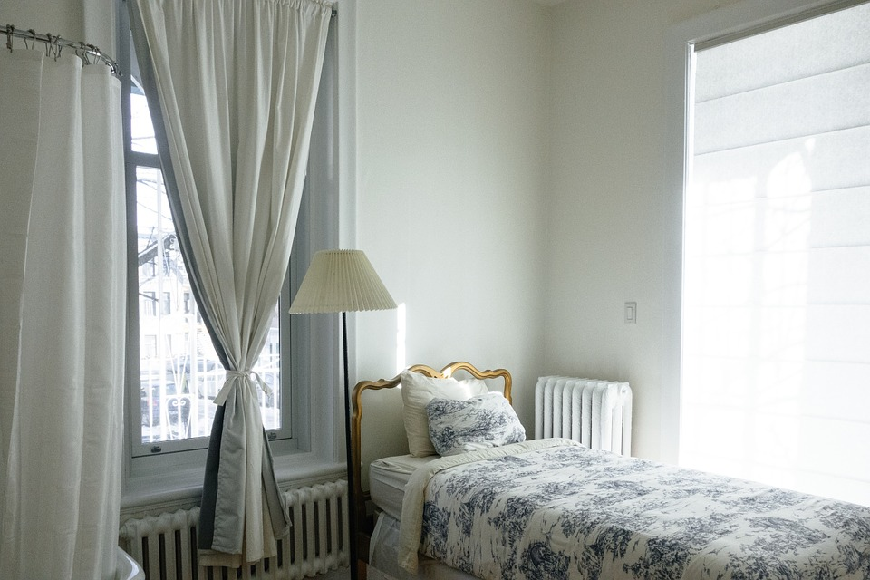 Interior Home Room Bedroom Apartment Bedding Bed