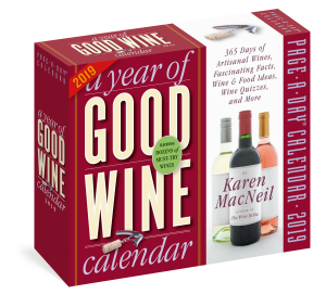 Year of Good Wine Page-A-Day Calendar 2019
