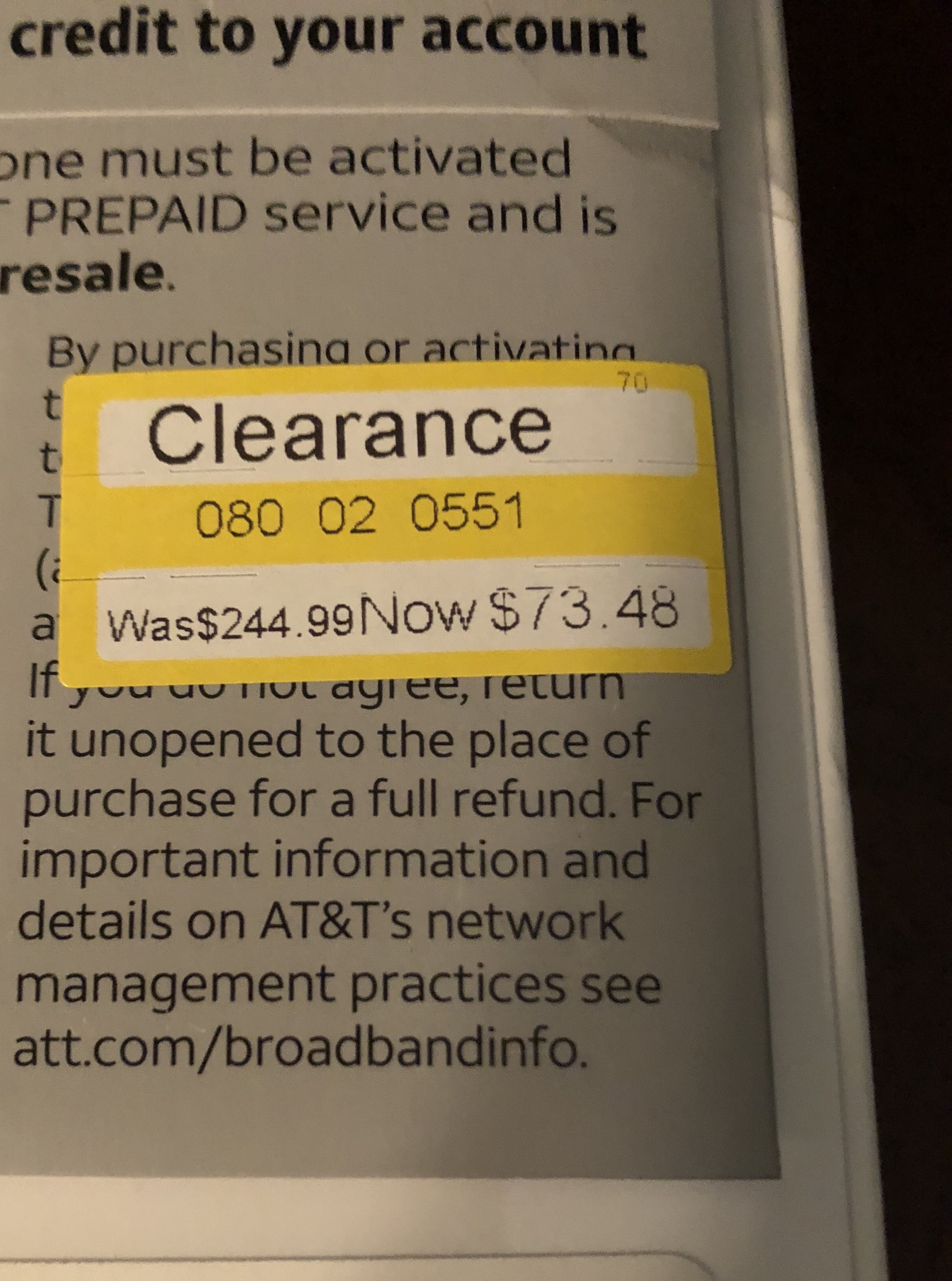 Clearance AT&T Prepaid iPhone 6s at Target - Who Said
