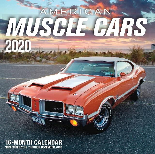 American Muscle Cars 2020 Calendar