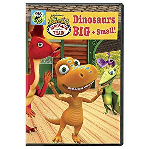 DVD Dinosaur Train Dinosaurs Big and Small