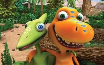 PBS Dinosaur Train Dinosaurs Big and Small