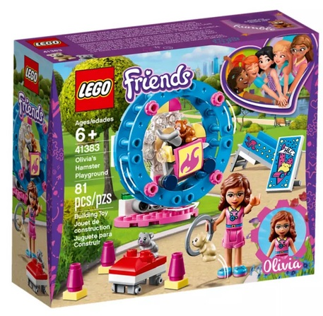 LEGO Friends Olivias Hamster Playground