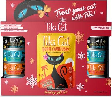 Tiki Cat Holiday Gift Set