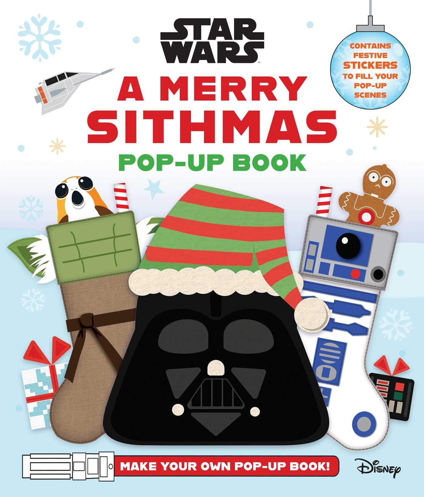 Star Wars A Merry Sithmas Pop-Up Book