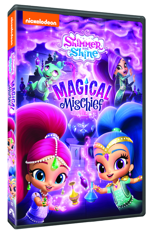 Shimmer and Shine Magical Mischief DVD
