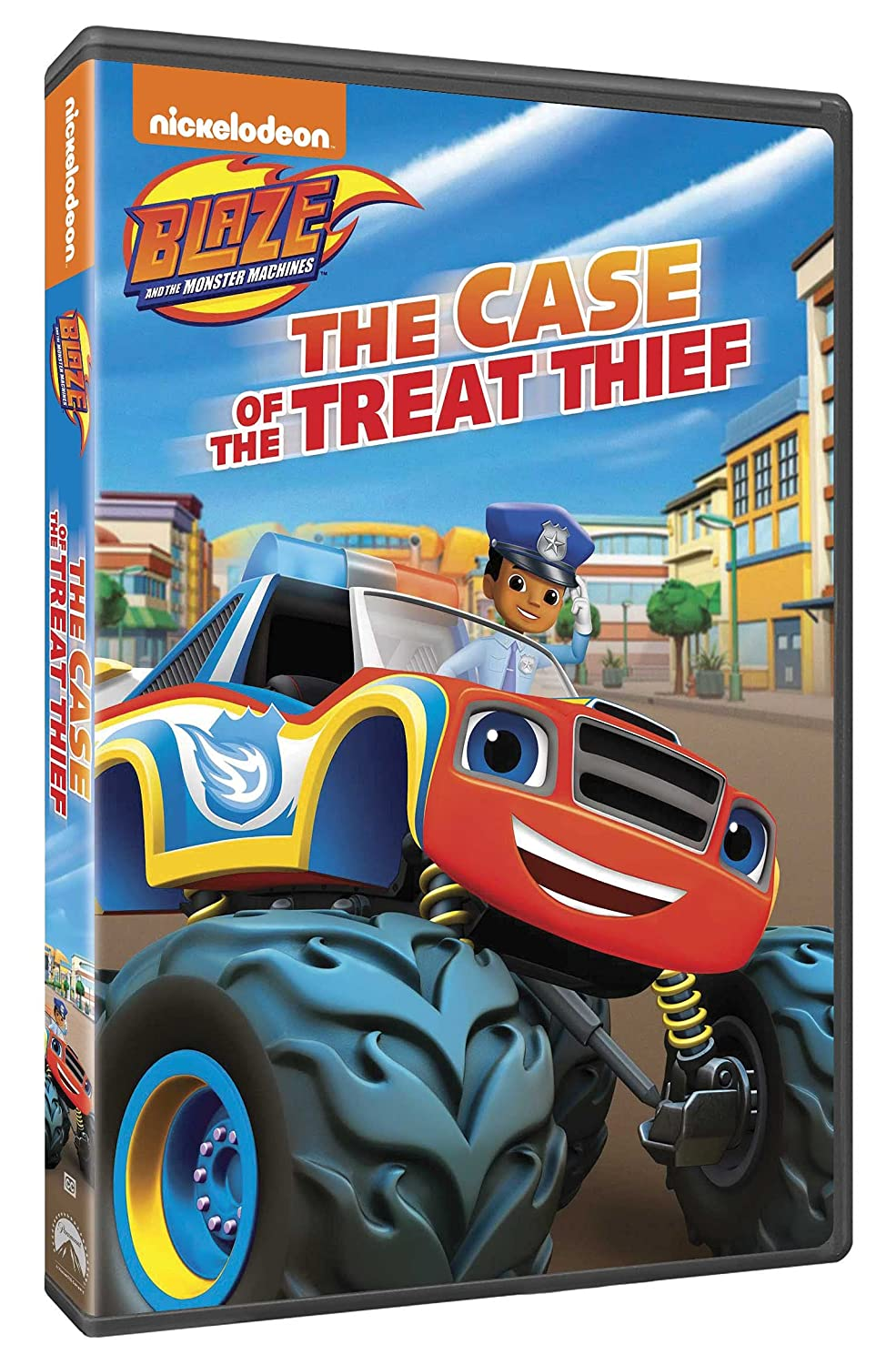 Blaze and the Monster Machines The Case of the Treat Thief DVD